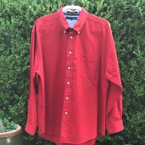 Men's Tommy Hilfiger Button Down Shirt Size XL.